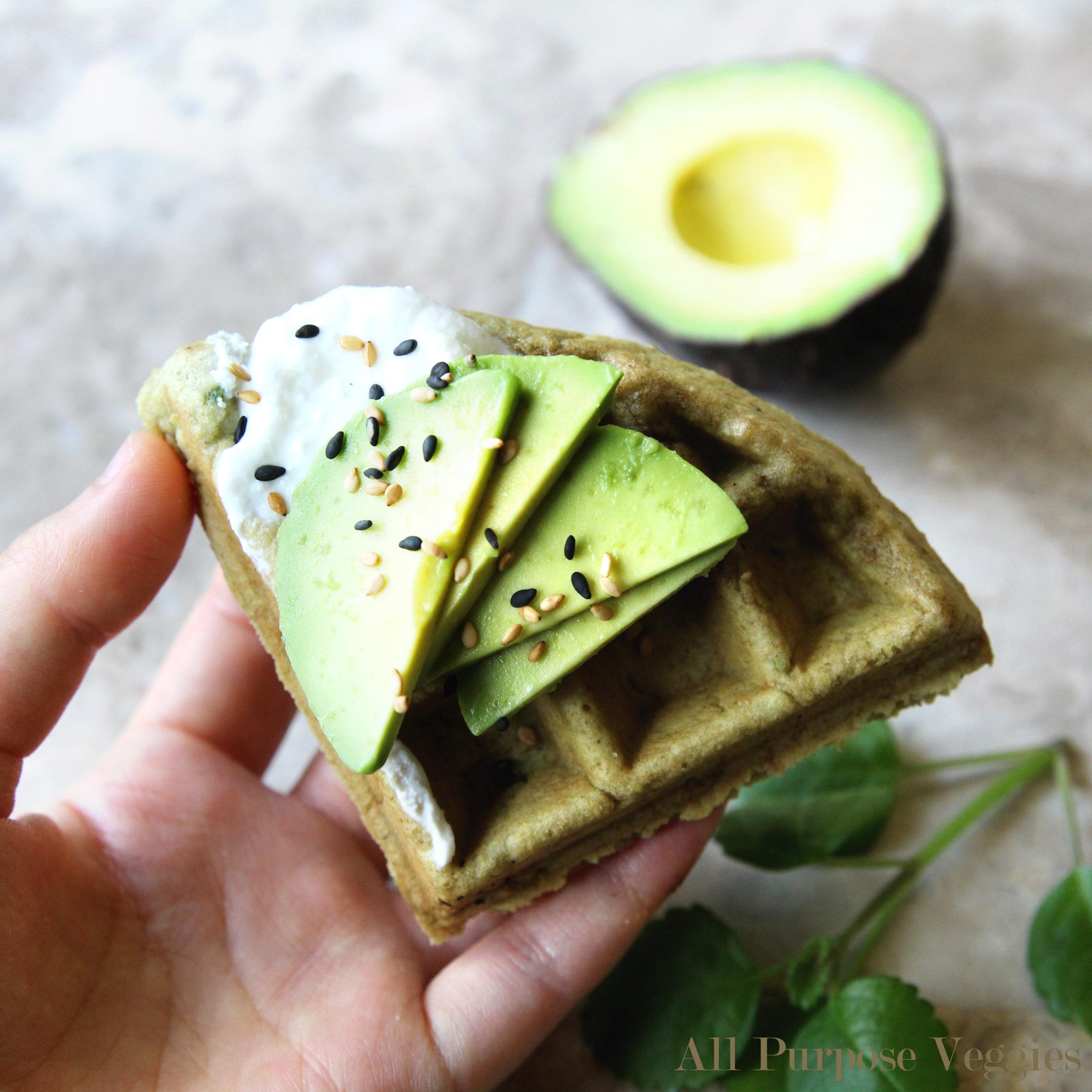 Healthy Avocado Mochi Blondies (Gluten-Free)